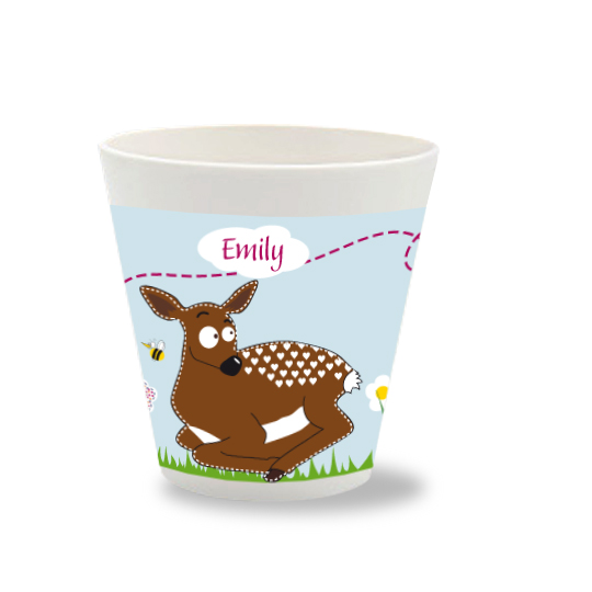 Kinder Becher mit Namen Bambi