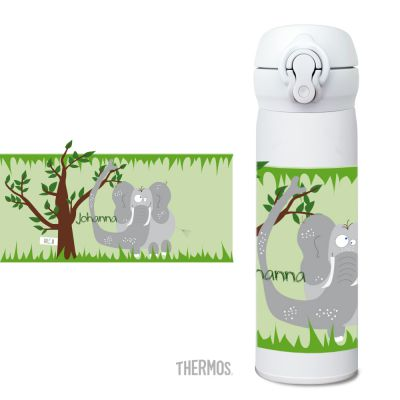 Thermos Isolierflasche Elefant
